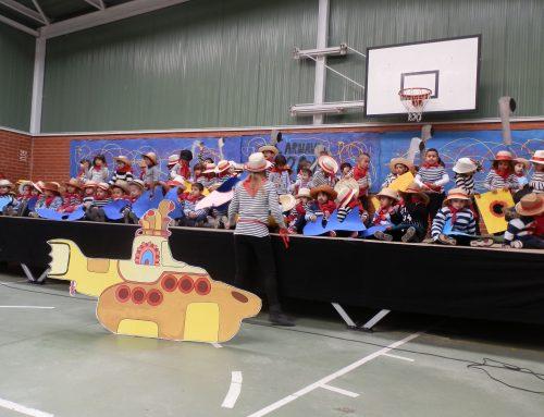 De la mano de Albión nos llegó el carnaval!