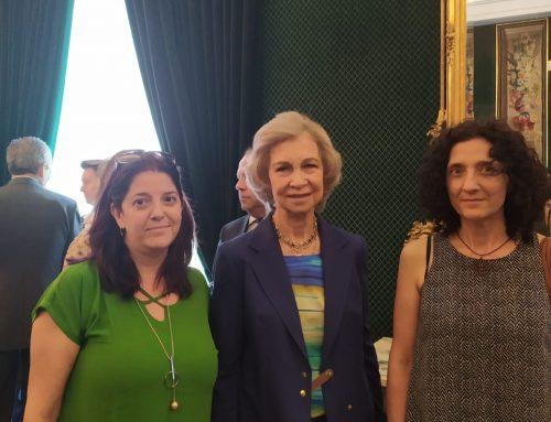 La Reina Sofía con el Colegio Trabenco