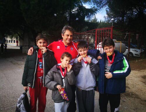 El Colegio Trabenco en el Campeonato de lucha de la Comunidad de Madrid