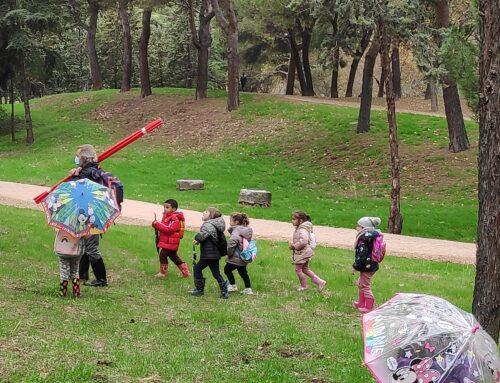 PASEOS POR EL PARQUE EN EDUCACIÓN INFANTIL